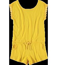Yporqué Pompom Jumpsuit Yporque Pompom Jumpsuit yellow