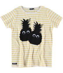 Yporqué Striped PINEAPPLE EYES Tee Yporque Striped PINEAPPLE EYES Tee