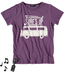 Yporqué Surf's up Tee (GELUID) Yporque Surf's up Tee