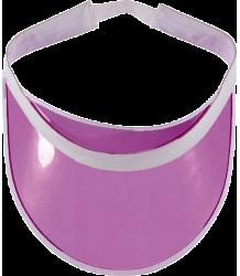 Yporqué Neon Visor Cap Yporque Neon Visor Cap purple