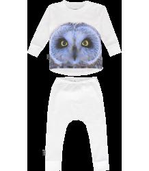 Mói Pajamas OWL Moi Pajamas OWL white