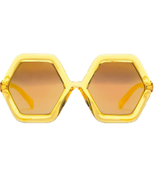 Sons + Daughters Honey Sunglasses  Sons Daughters Honey Yellow Jelly Mirror