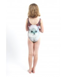 Popupshop Swimsuit UV FLUFFY CAT Popupshop Swimsuit UV FLUFFY CAT