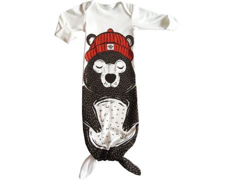 Electrik Kidz Knotted Gown BEAR