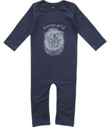Lion of Leisure Baby One-Piece Suit HEDGEHOG Lion of Leisure Baby One-Piece Suit HEDGEHOG blue