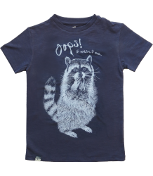 Lion of Leisure T-shirt RACCOON Lion of Leisure T-shirt RACCOON navy blue