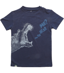 Lion of Leisure T-shirt HIPPO Lion of Leisure T-shirt HIPPO indigo blue