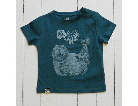 Lion of Leisure Baby T-shirt SEAL