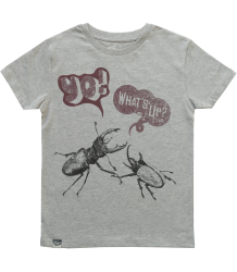 Lion of Leisure T-shirt BEETLES Lion of Leisure T-shirt BEETLES grey