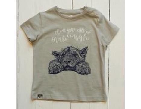 Lion of Leisure Baby T-shirt LION CUB