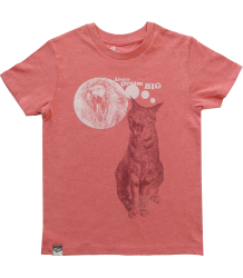 Lion of Leisure T-shirt CAT Lion of Leisure Baby T-shirt CAT red