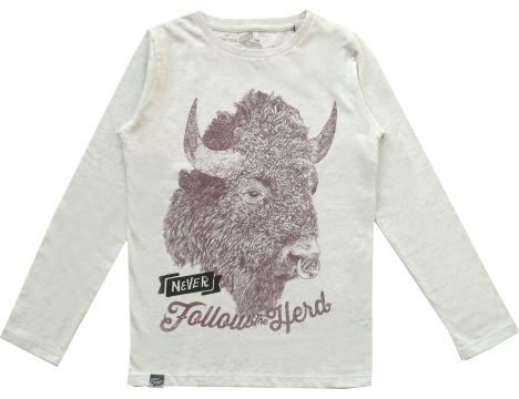 Lion of Leisure T-shirt LS BUFFALO