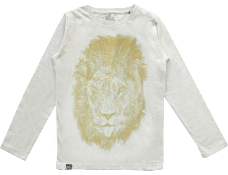 Lion of Leisure T-shirt LS LION