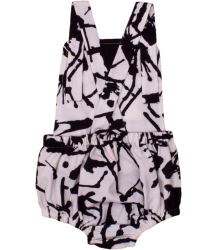 Noé & Zoë Boys Sailor Romper BLACK INK Noe & Zoe Boys Sailor Romper black ink