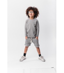 Icecream Bandits Nola - Long Fit Kid Sweater PRE ORDER Icecream Bandits Nola - Long Fit Kid Sweater grey