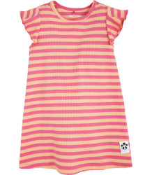 Mini Rodini STRIPE Rib Wing Dress Mini Rodini STRIPE Rib Wing Dress