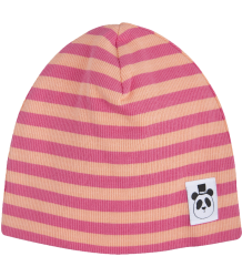Mini Rodini Striped Rib Beanie Mini Rodini Striped Rib Beanie pink
