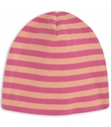 Mini Rodini Striped Rib Beanie Mini Rodini Striped Rib Beanie