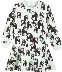 Mini Rodini PANTHER LS Sweat Dress Mini Rodini PANTHER LS Sweat Dress