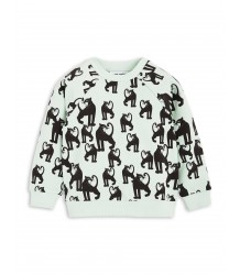 Mini Rodini Sweatshirt PANTHER AOP