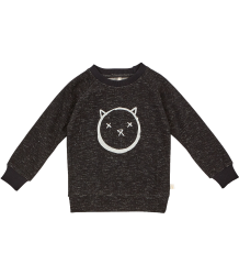 IGLO + INDI Crew Sweat CAT IGLO INDI Crew Sweat CAT black melange
