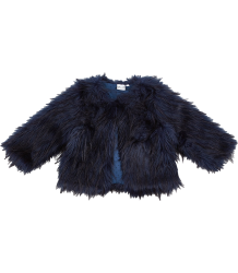 Fake Fur Jacket IGLO   INDI Fake Fur Jacket navy