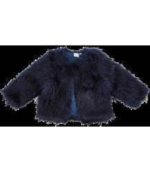 Fake Fur Jacket IGLO   INDI Fake Fur Jacket navy