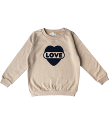 LOVE Sweatshirt Simple Kids LOVE Sweatshirt
