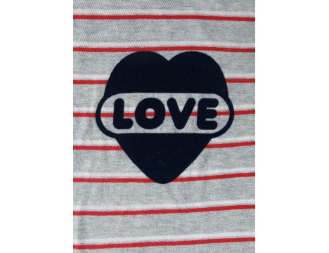 Simple Kids LOVE Tee Stripes
