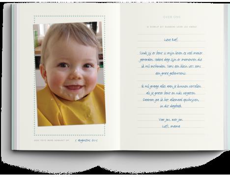 Elma van Vliet Dagboek voor mijn zoon (NL)