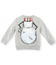 Stella McCartney Kids Biz baby Sweater SNOWMAN Stella McCartney Kids Biz baby Sweater SNOWMAN