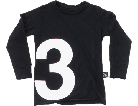 Nununu NUMBER T-shirt LS
