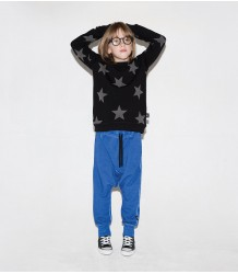 Nununu Diagonal Baggy Pants Nununu Diagonal Baggy Pants Dirty blue
