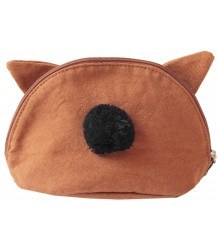 Emile et Ida Pencil Case PINPIN Emile et Ida Pencil Case PINPIN cognac
