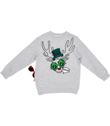 Stella McCartney Kids Sweater FUNNY FACE X-MAS Stella McCartney Kids Sweater FUNNY FACE Xmas