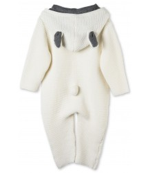 Stella McCartney Kids Acorn Knit All in One Suit Stella McCartney Kids Acorn Knit All in One Suit off-white