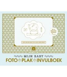 Mama Baas Mijn Baby FotoPlakInvulBoek (NL) Terra Lannoo Mijn Baby FotoPlakInvulboek