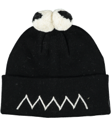Stella McCartney Kids Tweedle Hat PomPom EYES Stella McCartney Kids Tweedle Hat PomPom EYES