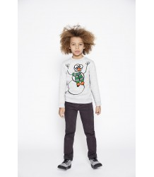 Stella McCartney Kids Biz Sweater SNOWMAN Stella McCartney Kids Biz Sweater X-MAS