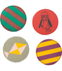 Bobo Choses DEAR WORLD Patches Pack - Set of 4 Bobo Choses DEAR WORLD Patches Pack - Set of 4