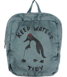 Bobo Choses Schoolbag KEEP WATERS TIDY Bobo Choses Schoolbag KEEP WATERS TIDY