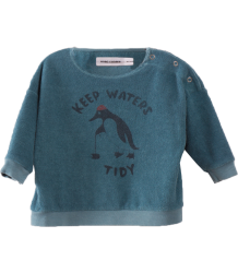 Bobo Choses Baby Sweatshirt KEEP WATERS TIDY Bobo Choses Baby Sweatshirt KEEP WATERS TIDY