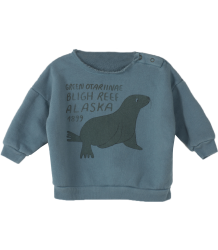 Bobo Choses Baby Sweatshirt GREEN OTARIINAE Bobo Choses Baby Sweatshirt GREEN OTARIINAE