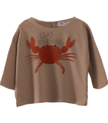 Bobo Choses Baby T-shirt CRAB YOUR HANDS Bobo Choses Baby T-shirt CRAB YOUR HANDS