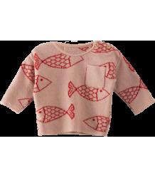 Bobo Choses Baby Knitted Jumper Shoaling FISH Bobo Choses Baby Knitted Jumper Shoaling FISH