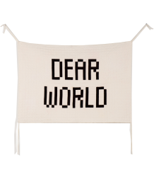 Bobo Choses Quilted Wall Hanger DEAR WORLD  Bobo Choses Quilted Wall Hanger DEAR WORLD