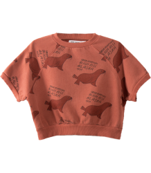 Bobo Choses SS Sweatshirt GREEN OTARIINAE aop Bobo Choses SS Sweatshirt GREEN OTARIINAE aop