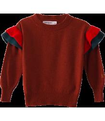 Bobo Choses Ruffles Knitted jumper Dusty Cedar Bobo Choses Ruffles Knitted jumper Dusty Cedar