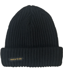 Finger in the Nose Saporo Unisex Beanie Finger in the Nose Saporo Unisex Beanie black