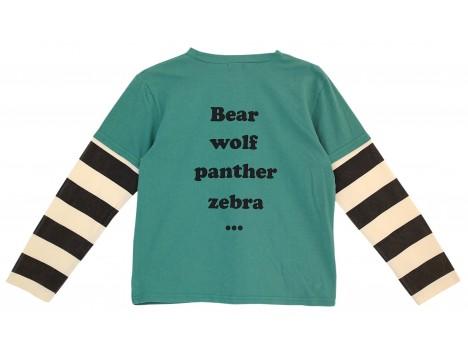 Bandy Button Kary Tee-shirt Long Sleeves